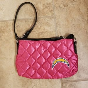 NWT. San Diego Chargers wristlet or purse